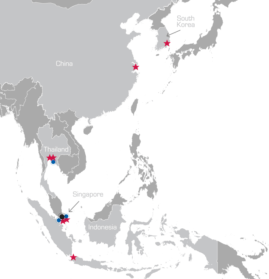 MRC Global Asia Locations