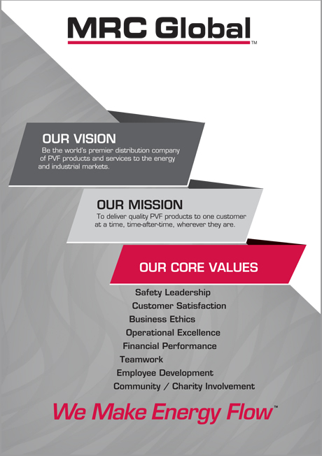 MRC Global Vision & Mission